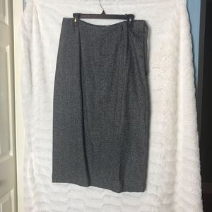 NWT Womens Elena Silk Blend Skirt